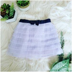 { janie & jack } tulle tiered ruffled sweet skirt